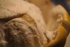 晩白柚を食べる