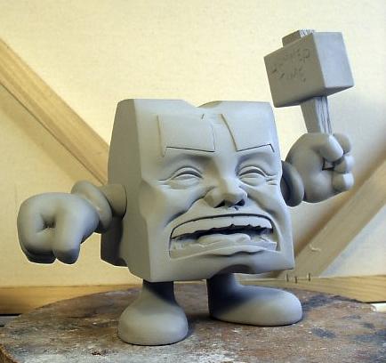 Cheese final sculpt