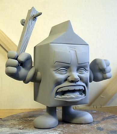 Milk final sculpt