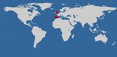 Meme: Países que he visitado