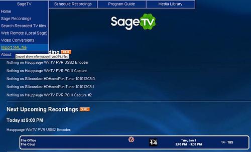 6 Sagetv Webserver 2