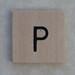 Wooden Tile P