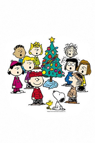Charlie Brown Christmas iphone wallpaper