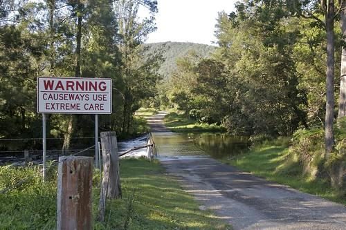 warning- causeway