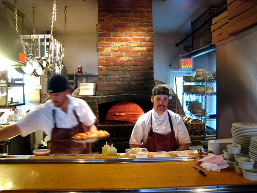 Franny's Pizzamen and the Wood-Burning Oven (by Slice)