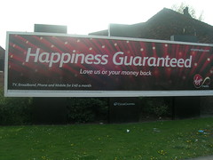 It look as if Virgin has guaranteed my happiness