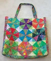 Hawaiian Batik Bag photo by dorkyquilts