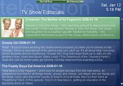 TV Show Editorials