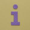 card letter i