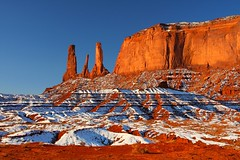 Monument Valley in the Snow photo by GMills31