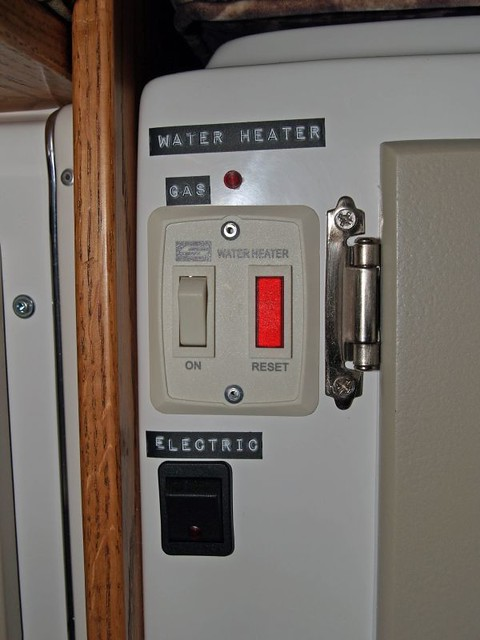 How to light the hot water heater pilot light on newer style water heaters.