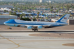 "boeing vc-25a ""air force one"" photo by Matt ""Linus"" Ottosen"