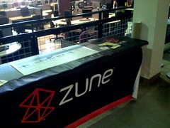 Zune at podcampaz