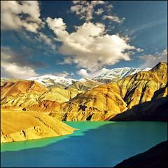 Tibet Turquoise lake inspired photo by Katarina 2353