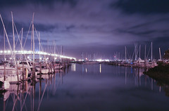 Night Marina photo by Chris Gin