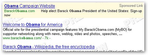 obama google ad