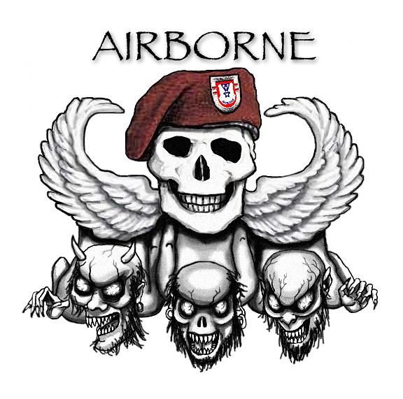 Army Airborne Tattoos