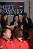 Saint Anselm College Student Asks Mitt Romney a Question During Town Hall Meeting