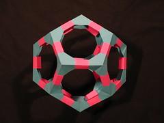 Polyhedra Kit Dodecahedron (Modular Origami)