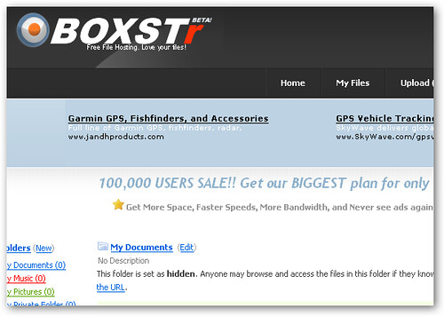 boxstr online storage