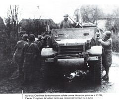 RFM- 1944- Half track de reconnaissance - Fonds G. Galland
