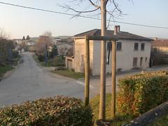 Angle du Chemin de la Crottée et de la rue de la Marjolaine