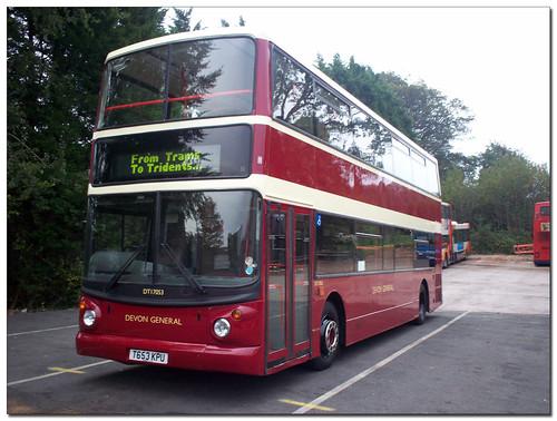Stagecoach Devon DT17053 T653KPU