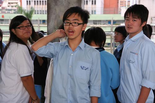 羨慕的同學