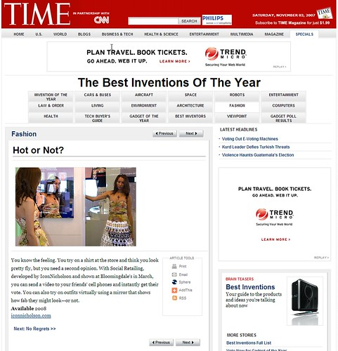 IconNicholson Social Retailing = Time Magazine's Best Inventions of the Year 2007 (by See-ming Lee 李思明 SML)