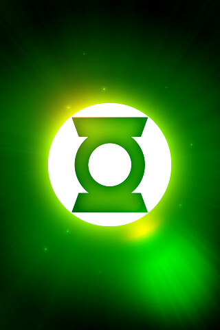 Green Lantern Logo iphone