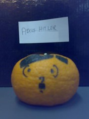 Orange Adolf Hitler