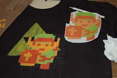 Zelda Shirt - Nearly Done