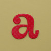 card letter a