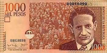 1000_Peso_Schein_Kolumbien_Vorne