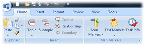 mindmanager ribbon