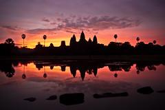 Angkor Wat Sunrise photo by Marko Stavric