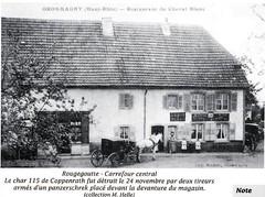 1944- Franche Comté Vosges- Rougegoutte-