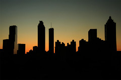 Atlanta Silhouetted photo by mcmillend
