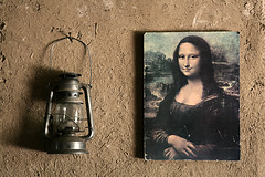 Monalisa in an Iranian village photo by HORIZON