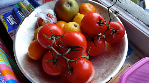 pommes tomates