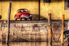 """Red 'Fusca"""" photo by Omar Junior"""