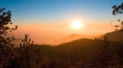Foggy Sunset photo by romainguy