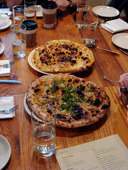 Clam Pie and Olive Oil & Sea Salt Pie (by Slice)