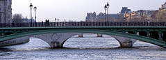 Rita Crane Photography:  Pont Notre Dame, Paris ~  France  / Louvre / bridge / river / La Seine / people photo by Rita Crane Photography