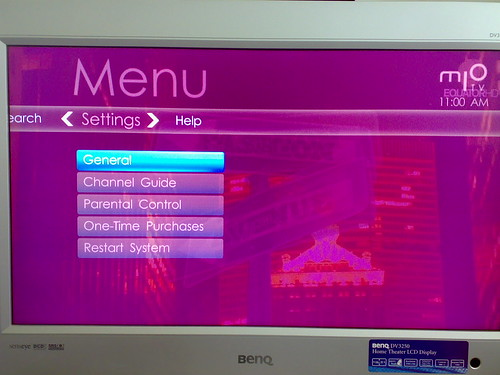 Getting mio TV: setting up your hdtv