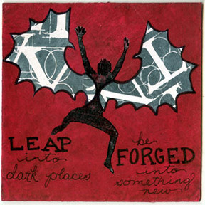 Leap into dark places