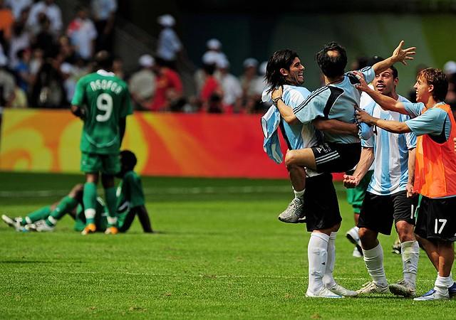 OLYMPICS: Mens Soccer-Argentina vs Nigeria   Flickr - Photo Sharing!