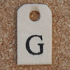 Wooden Tag G