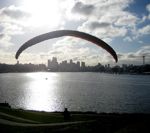 paragliding seattle