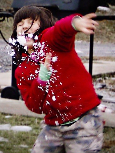 Grace Gets Nailed with a Snowball
